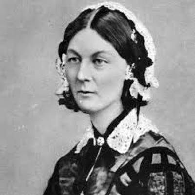 An evening with Florence Nightingale - my hero... with Dee
